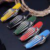 Detachable Cutlery Spoon Opener Combination Outdoor Travel Tableware Multifunctional Folding Knife - BLACK