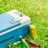 Alfawise B15 15L Smart Portable Car Freezer / Fridge Refrigerator - BLUE KOI