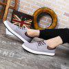 Men's Casual Durable Canvas Shoes Lace-up - GRAY