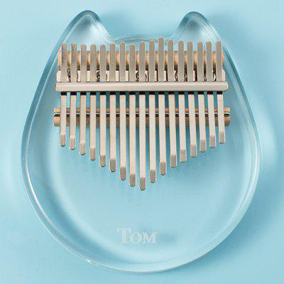 TOM Transparent Animal Model Kalimba Thumb Piano