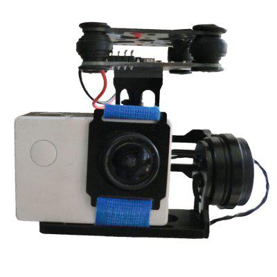 FPV 2 Axle Mini Brushless Gimbal with Control Board