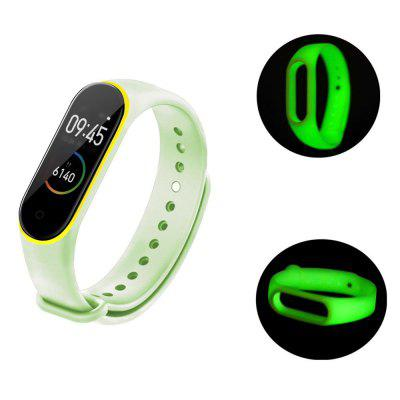 TAMISTER Two-color Luminous Wristband for Xiaomi Band 4