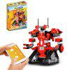 Mold King 13001 Puzzle Assemblato Robot Building Blocks - ROSSO