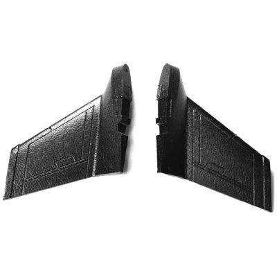 Original ZOHD Vertical Tail Stabilizer Fin for DART XL Extreme RC Airplane 2pcs
