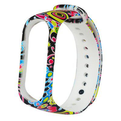 TAMISTER Painted Pattern Personalized Print Replacement Strap for Xiaomi Band 4