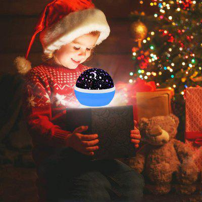 brelong Music 360 Degree Rotating Bluetooth Star Night Light