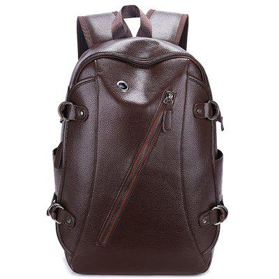Men's Backpack Retro Large Capacity with USB Charging Hole