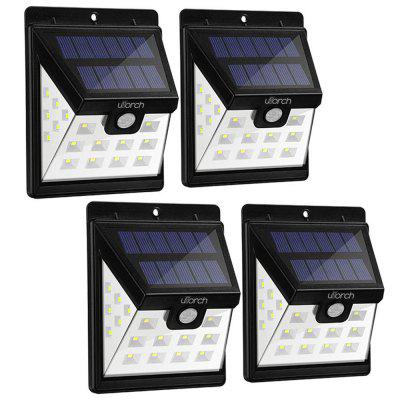Utorch HJ001 Solar Wall Light 4st