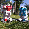 CRAZON Jouet de Robot RC d'Match de Football Double 2 Pièces - MULTI