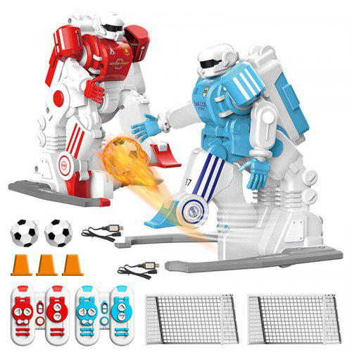 CRAZON Double Football Match RC Robot giocattolo 2 pezzi