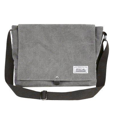 Homens Messenger Bag Solid Cor Casual Street Style