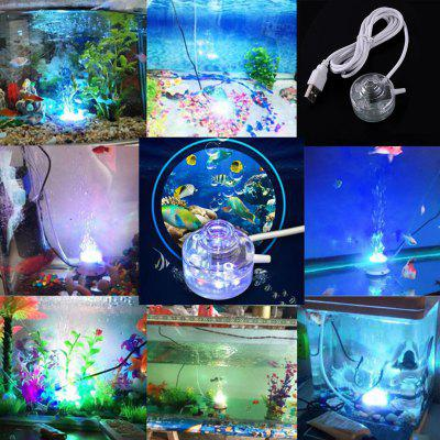 Colorful Aquarium LED Diving Bubble Lights