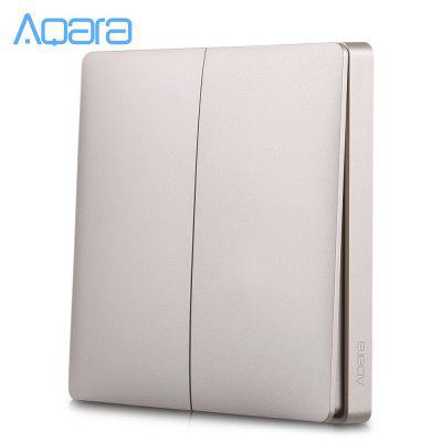 Aqara Double-key Wall Intelligent Linkage Light Control Home Switch Panel ( Xiaomi Ecosystem Product )