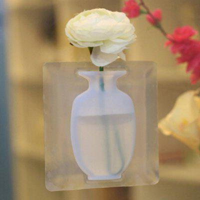 Silicone Sticker Free Punch Wall Vase