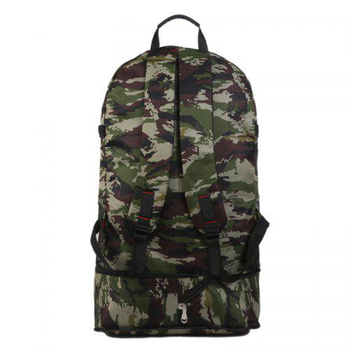 615be8247e6c Men's Camouflage Print Large Capacity Mountaineering Backpack Outdoor  Camping Bag