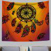 Dreamcatcher 3D Creative Bohemian Home Wall Decorating Cloth Tapestry - CHOCOLATE