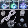 Colorful Aquarium LED Diving Bubble Lights - TRANSPARENT