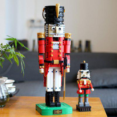 Sy7046 Puppet Soldier Small Particles DIY Creative Model Building Block Toy 764PCS