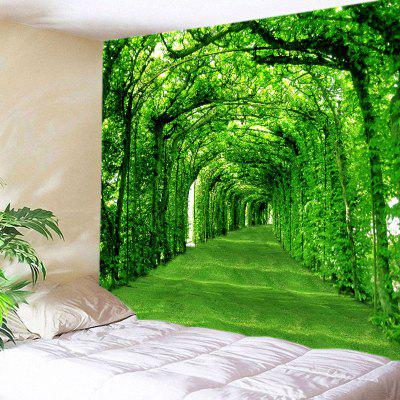 Green Lawn Home Decor Tapestry