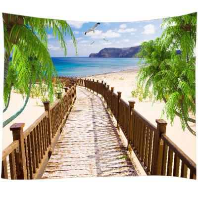 Seaside Plank Road Home Decor Tapestry