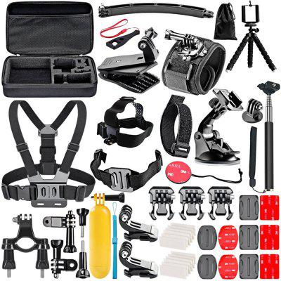 T - 36 Camera Accessories Set for Gopro Hero 7 / 6 / 5 / 4 / 3 / 2 / 1