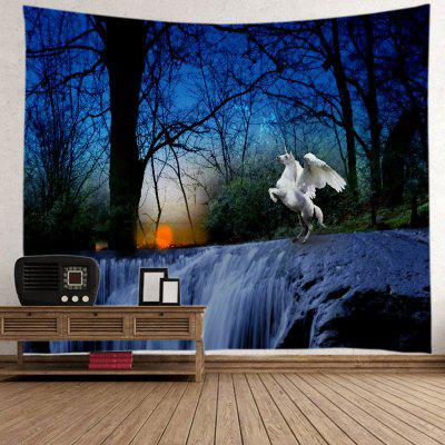 Halloween Pegasus Home Decor Tapestry