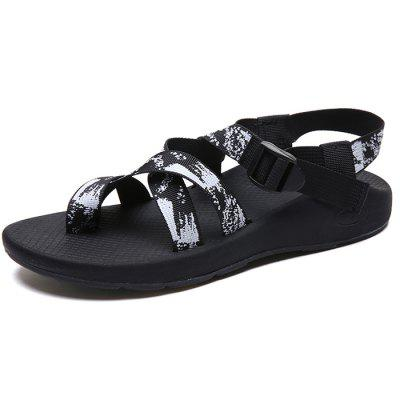 Women's Thin Belt Thick Bottom Exquisite Sandals Large Size