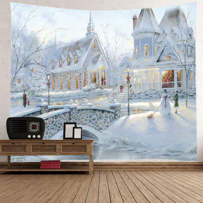 Silver Castle Decorating Fashion Home Tapestry