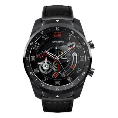 Ticwatch Pro 1.4 inch Bluetooth Sports Smart Watch Is a Premium Fitness Tracker for the Modern Life with Google Wear OS, Voice Control, Google Pay with NFC, GPS