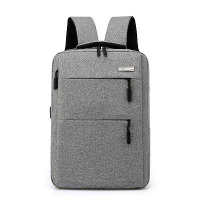 beimianjianfeng1835 Men's Business Double Hidden Bag Backpack 15.6-inch Laptop Bag