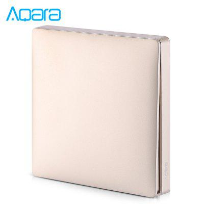 Aqara Wall Intelligent Voice Light Control Home Switch Panel Zero Fire Single Key Version ( Xiaomi Ecosystem Product )