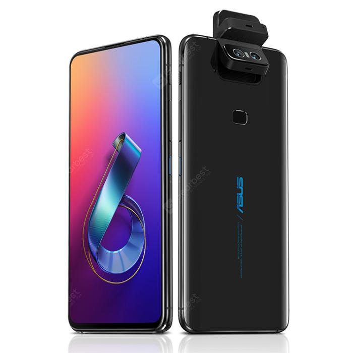 Gearbest ASUS Zenfone 6 6.4 inch 6GB + 128GB Full-screen Global Version Smartphone