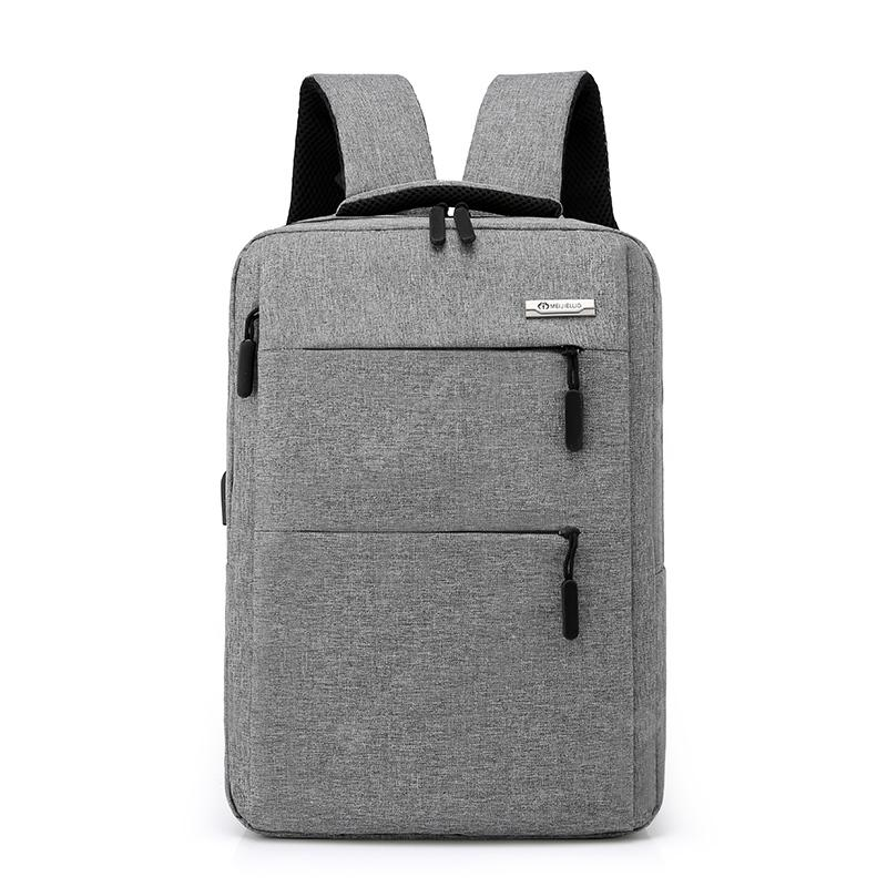 beimianjianfeng1835 Men's Business Double Hidden Bag Backpack 156-inch Laptop Bag