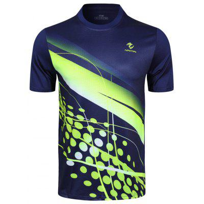 Men's T-shirt Summer Sports Breathable Quick-drying Slim Short Sleeve