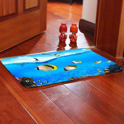 Ocean World Bedroom Living Room Carpet