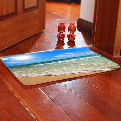 Beach Coast Pattern Stylish Bedroom Rug Carpet
