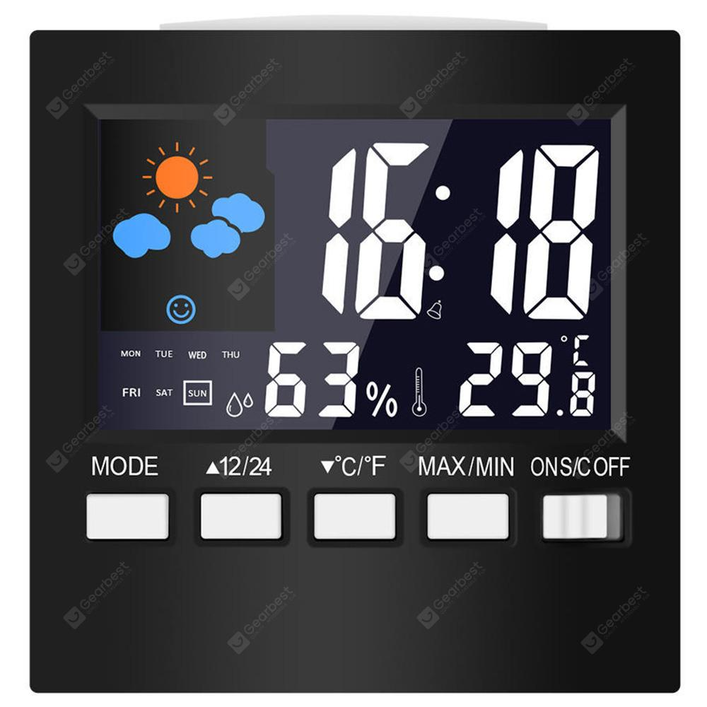 Multi-function Electronic Weather Temperature Humidity Clock