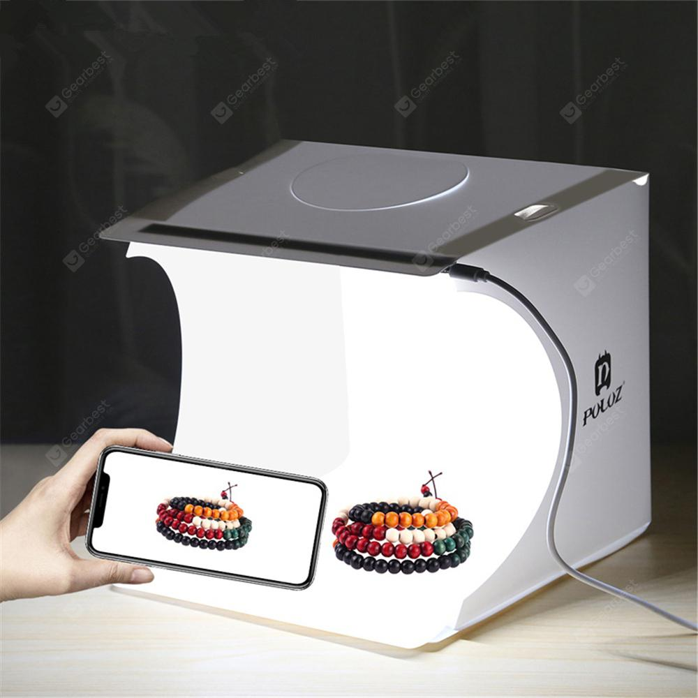 Bilikay PULUZ Foldable Mini 1 LED Photography Light Box - White