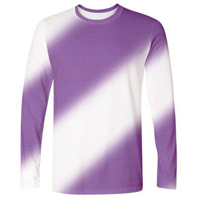 Fashion Men Long Sleeve T-Shirt