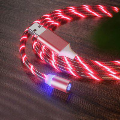 Magnetic Micro USB Streamer Charging Cable 1m