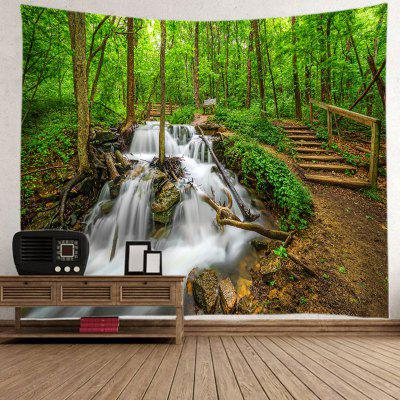 Small Bridge Running Water Pattern Home Decoration Tapestry
