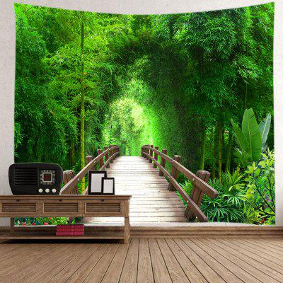 Small Road Wood Home Decor Tapestry