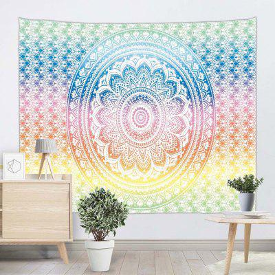 Moda Kolor Psychedelic Print Home Decor Tapestry