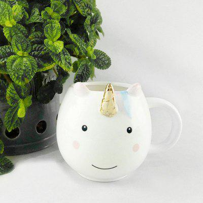 Creativ personalitate Animal Unicorn Ceramica cana