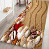 Home Beach Pattern Mat - WOOD