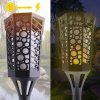 Creative Solar LED Bubble Torch Light - BLACK