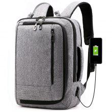 Men's Backpack Business Casual With USB Charging Hole