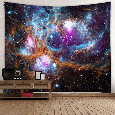 Star Universe Dream Print Polyester Decorative Tapestry