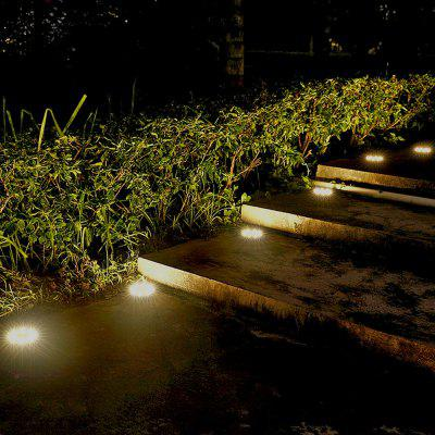 Solar Powered LED Light Lawn Outdoor Ground Garden Decorative Lamp