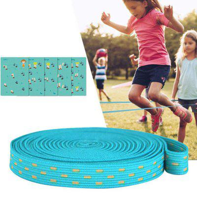Children Adult Rubber Band Classic Outdoor Nostalgic Toy Elastic Rope